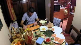 GoPro Timelapse Sushi making Serbia - Sushiranje Srbija HD