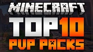 TOP 10 MINECRAFT PVP TEXTURE PACKS FOR 1.12 NO LAG! [HD] - 2017 -
