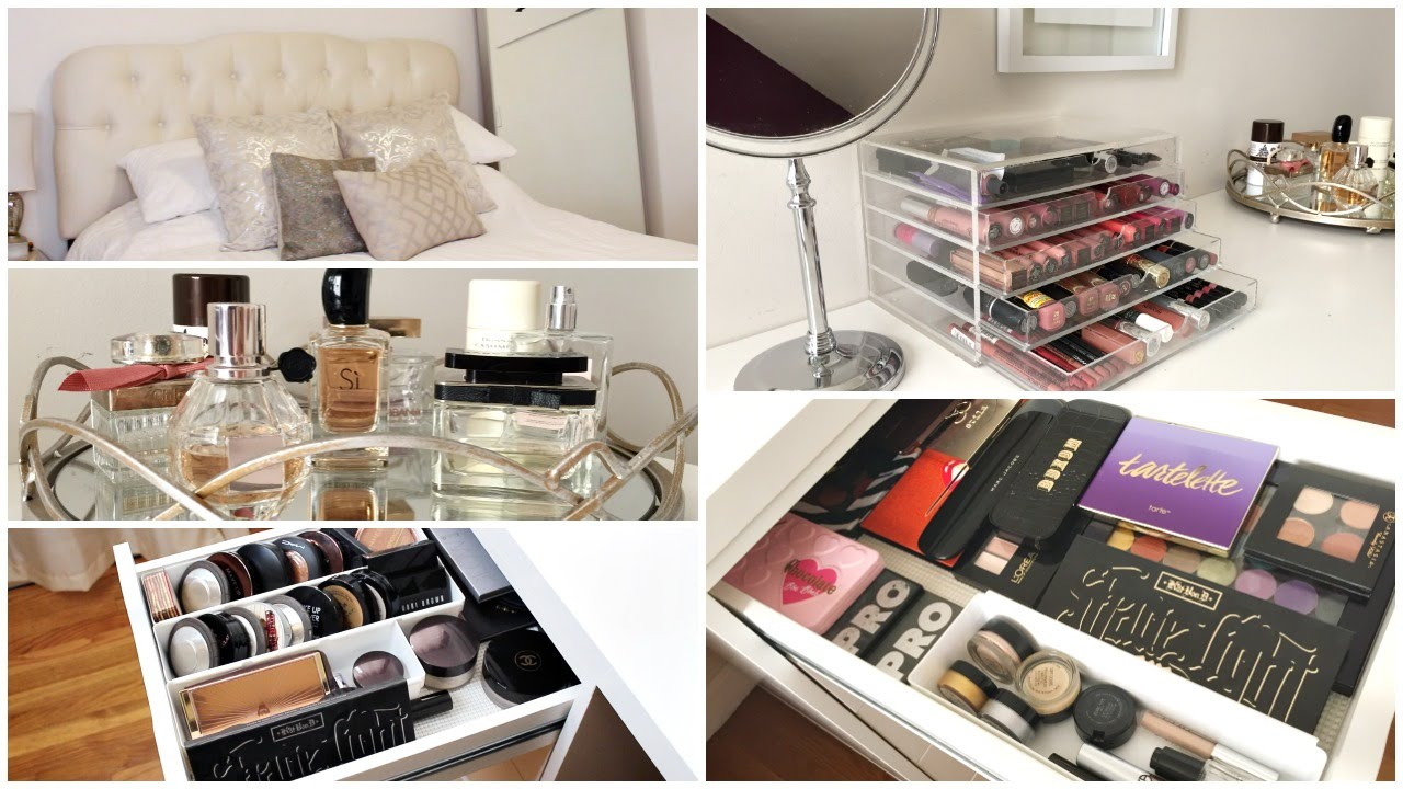 2016 Updated Makeup Collection Mini Room Tour Eliana