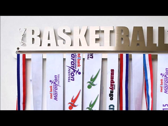 Medal Display Hanger - Basketball™