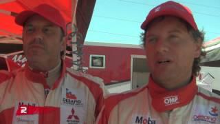 Marcelo Filippi y  Marcelo Brizio - Rally Rosselot Team - MotorShow 2013