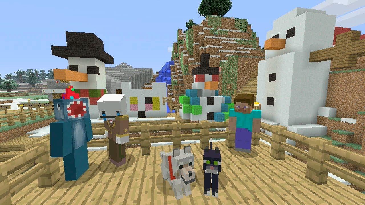 Stampy Cat Minecraft Videos Christmas