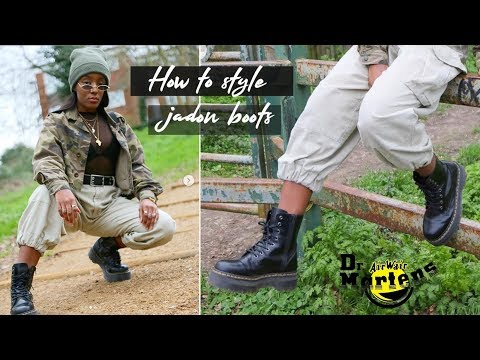HOW TO STYLE DR MARTENS | JADON BOOTS