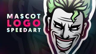 Adobe Illustrator | Mascot / Sports Logo | JOKER | Shard