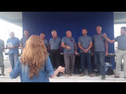 A drop of nelsons blood by the lefkas shanty choir