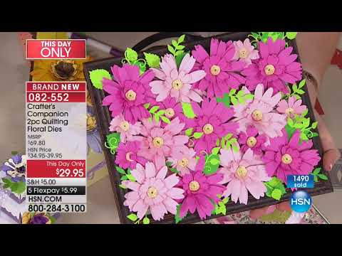 HSN | Crafter's Companion 01.10.2018 - 10 PM