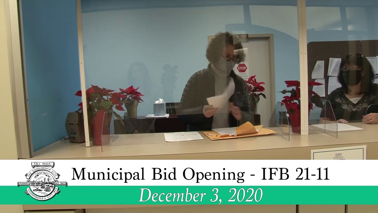 9.9.9 Municipal Bid Opening - IFB 9-9