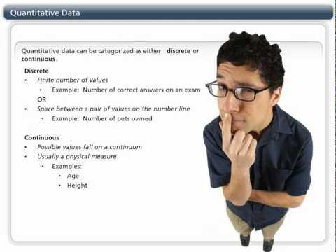 Quantitative vs.Qualitative Data