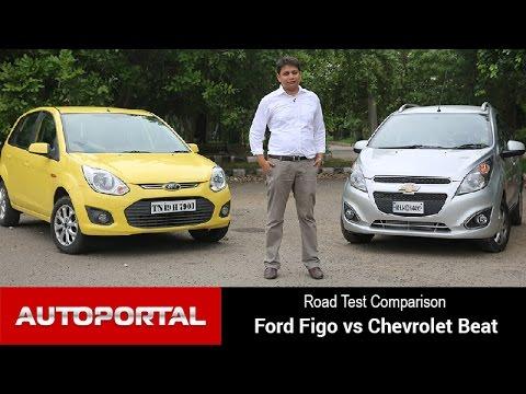 Ford Figo vs Chevrolet Beat Road Test Comparison - Autoportal