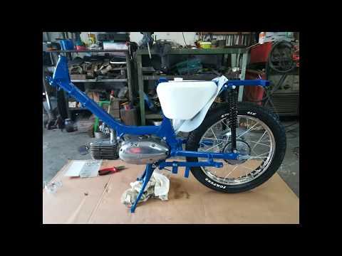 Jawa 50/21 Renovace