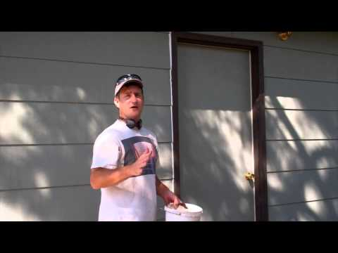 Exterior Painting Step 3: Caulking the House