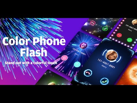 Download How To Change Call Screen Themes With Color Flash Launcher