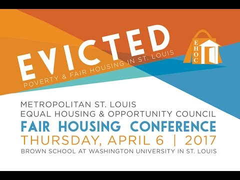 STL LIVE - Evicted/EHOC Fair Housing Conference - 1 of 2