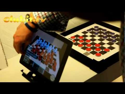 App Quiz & Augmented Reality Draughts Ipad Game at The London Toy Fair 2012