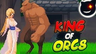 [2D Pixel ACT] UnHolY DisAsTeR gameplay .KING of Orcs.[UnholY CreatioN ]