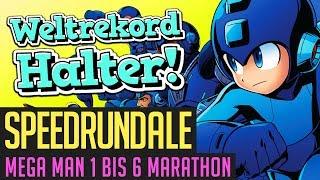 Mega Man 1 bis 6 (Any%) Marathon-Speedrun in 03:17:34 von Prisi (Weltrekord-Halter)   Speedrundale