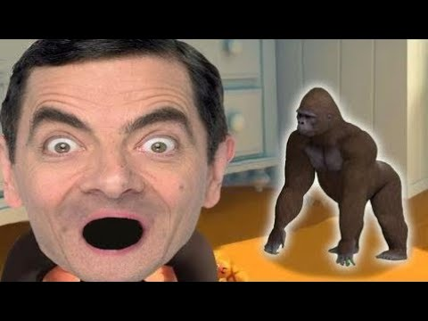MOVIE THE BOSS BABY  FUNNIEST DISNEY FACE SWAPS BABY Mr Bean Gorilla Wooden Hammer - LEARING COL HD