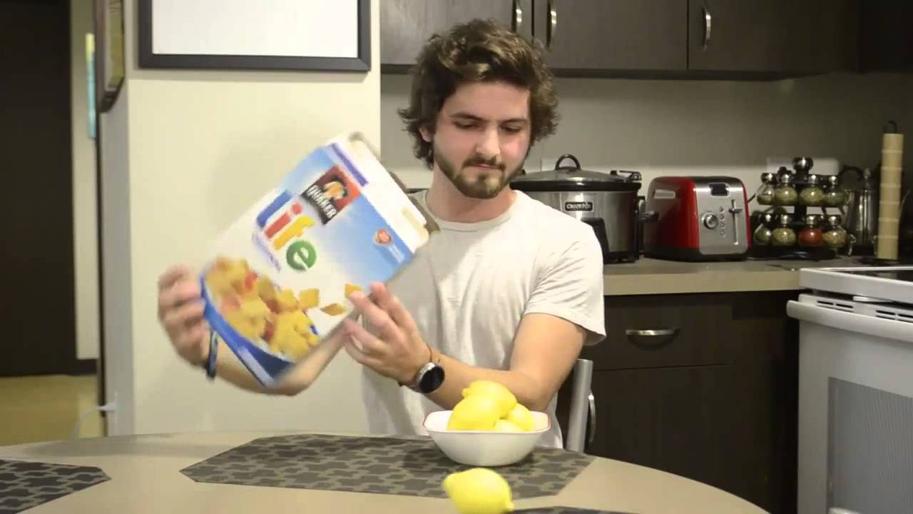 Well, when Life Gives You Lemons! Funny Cereal Vine