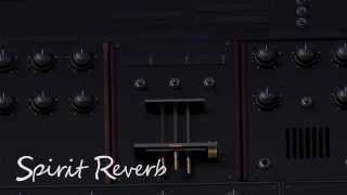 Spirit Reverb Spring Reverb Demo VST and AU Audio Effect From Aegean Music