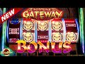 Fortune Gateway BIG BONUSES & WIN!!! Max Bet on Aruze Gaming Casino Slots