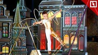 Самый юный жонглер-рекордсмен