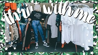 Come Thrift With Me | Thrifting at NEW Thrift Stores | Try On Thrift Haul