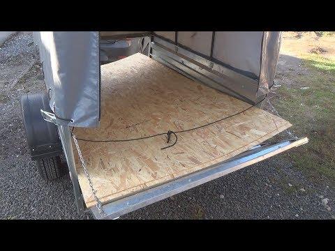 видео: osb на борта прицепа
