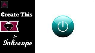 Inkscape Tutorial: Create Vector Power Button Graphic (Episode #63) @ Ardent Designs