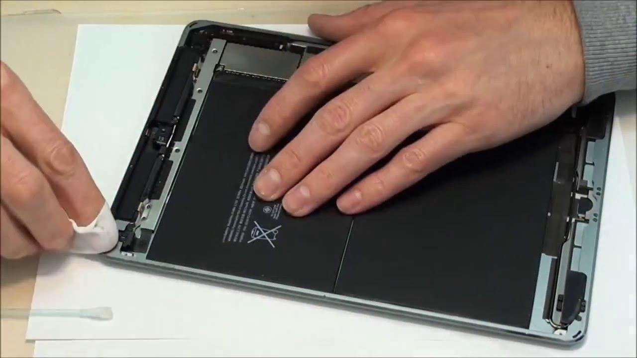 Apple iPad Air A1474 Glas wechseln Reparatur Austausch ...