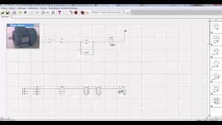 Démarrage Direct de Moteur Asynchrone Triphasé Par Logiciel Schémaplic 3.0 partie 2 HD