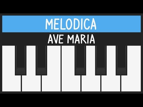 Ave Maria (Schubert) - How to Play - Easy Melodica Tutorial - YOUCANPLAYIT.COM