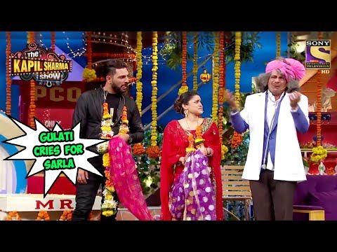 Gulati Cries On Sarla's Bidaai - The Kapil Sharma Show