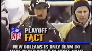 N.O. Saints vs Chicago Bears 1990 NFC Wildcard Game