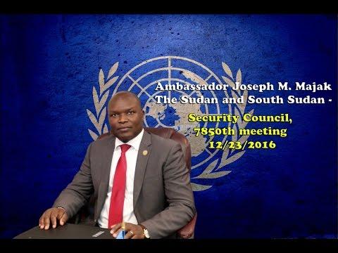 Ambassador . Joseph M. Majak