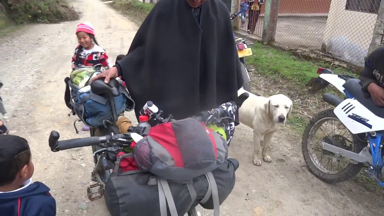 A typical day of bikepacking in Colombia, gear reviews and questions and answers