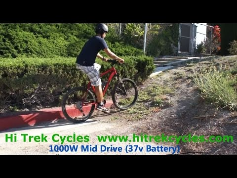 COMPARE: Mid Drive Motor vs Hub Motor  Hi Trek Cycles