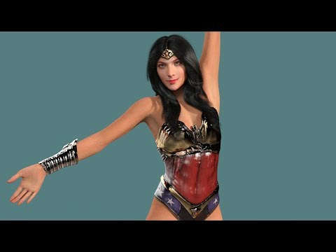 VR 360 Sexy Wonder Woman, Gal Gadot Dance Video!