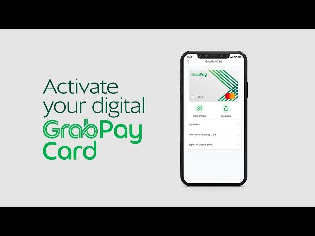 GrabPay   How to Activate Digital GrabPay Card