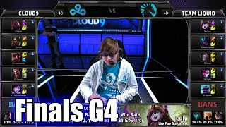 Team Liquid vs Cloud 9 | Game 4 Finals S5 NA LCS Regional Qualifier for Worlds | TL vs C9 G4