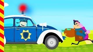 Полицейский на машине для детей. Полиция едет на вызов. Полиция мультики купер. Полиция погоня.