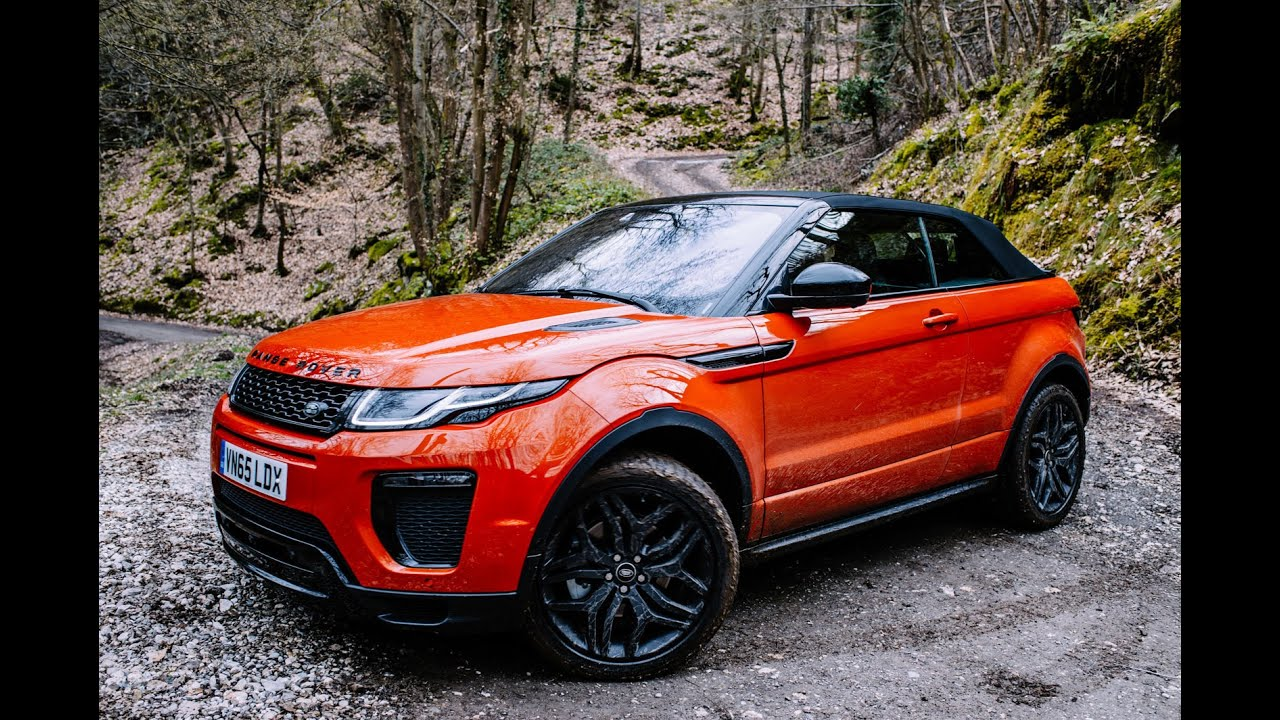 new upcoming 2017 land rover evoque convertible review youtube. Black Bedroom Furniture Sets. Home Design Ideas