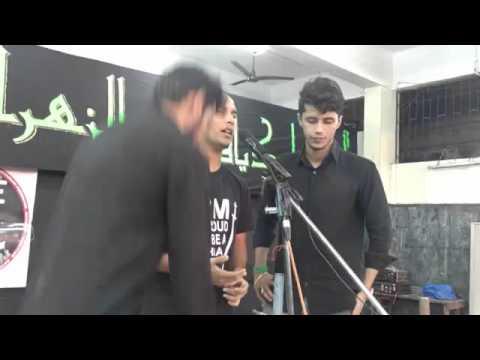 """Baba teri sakina(sa) Har zulm seh rahi hai"" By Nafees Anjuman-e-masoomiyan"