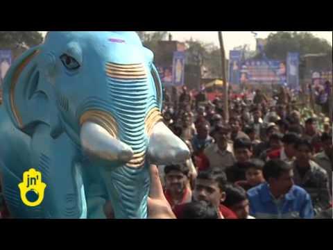 India's state assembly elections and Uttar Pradesh's Chief Minister Mayawati (Bahujan Samaj Party)