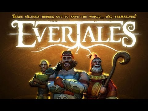 Evertales - iPad 2 - HD Gameplay Trailer - Part One