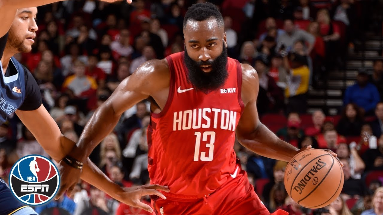 James Harden scores 40 in his fourth straight game, drops triple-double | NBA Highlights