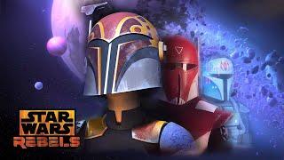 Mandalorian Civil War | Part 1 of 3 | Star Wars Rebels | Disney XD