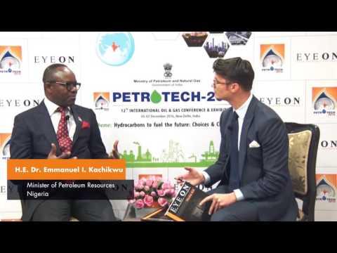 Nigeria Honourable Minister of State Petroleum Resources Dr. Emmanuel I Kachikwu