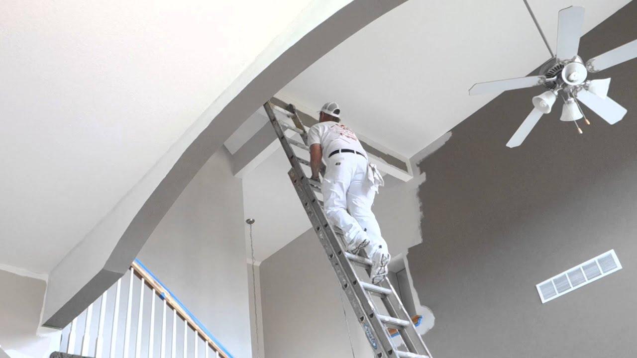 best way to paint high ceilings | www.Gradschoolfairs.com