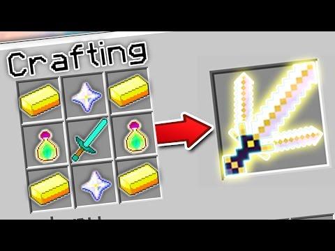 CRAFTING THE STRONGEST SWORD IN MINECRAFT?! | Minecraft Mods - Видео из Майнкрафт (Minecraft)