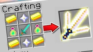 CRAFTING THE STRONGEST SWORD IN MINECRAFT?! | Minecraft Mods